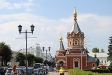 Центральная площадь города..