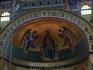 Конха апсиды базилики (фрески выполнены при реставрации в первой половине XX века)