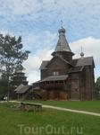 """Музей деревянного зодчества """"Витославлицы"""". С виду - старая деревня."""