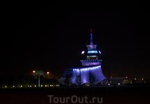 Навигационная башня батумского аэропорта