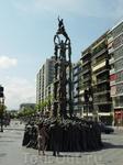 Таррагона - пямятник национальной забаве Каталонии.