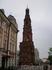 Улица Баумана.Колокольня Богоявленского собора, в которой был крещен, а позже в хоре которого в 80-х годах XIX века и пел знаменитый русский бас Ф.И. Шаляпин ...
