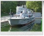 Торпедный катер пр.123К «Комсомолец» с носовым подводным крылом (СССР).