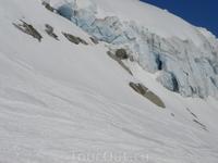 Голубой лед-это ледник