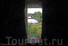 в Ладожской крепости