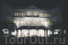 Raffles Hotel - образец колониального стиля и староанглийских традиций