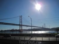 Мост 25 апреля. Лиссабон