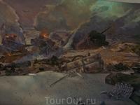 Фрагмент художественной панорамы&quotРазгром немецко-фашистских войск под Сталинградом&quot
