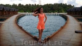 бассейн в виде сердца - Фихалохи