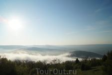 Балаклава под туманом