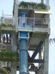 Атракцион климакс в аквапарке, для тех кому не хватает адреналина