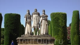 Cordoba - Alkazar Колумб, Изабелла и Фердинанд