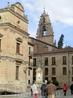 Выход из старого собора на яркий дневной свет. Мы выходим на площадь Карла XXIII с памятником архиепископу Padre Camara. Сюда же на площадь выходит здание ...