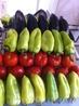 """обыкновенные помидоры, перец и баклажаны """"говящиеся"""" на мангал:)"""