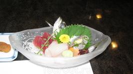 Вкусная и сырая рыбка