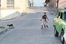 на улицах Сантьяго де Куба