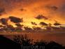 Закат, юго-запад острова.