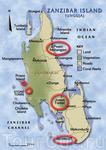 Карта Занзибара