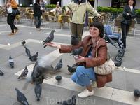На площади Сан- Марко