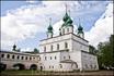 Михайло-Архангельский монастырь. Здесь расположился авто-тракторый техникум. Так что это учебные корпуса.