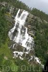 Здесь свои прекрасные водопады