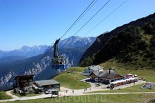Промежкточная остановка - ресторан и пункт отдыха Hochalm на высоте 1705м