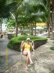 2009год. На территории пляжного ресторанчика в бухте Дадунхай.