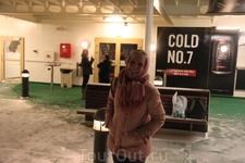 На палубе парома Таллин - Хельсинки: чувствовала себя как на Титанике - огромный корабль в холодных водах и впереди не видно низги