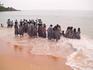 Побережье Ковалам, бухта Самудра   Поездка на побережье для индийских школьников