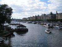 Набережная Стокгольма удивительно напоминает Петербург