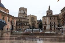 И в Валенсии дождь...