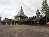 Дом  Санта-Клауса в Рованиеми