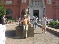 Египет, Каир, перед Каирским музеем