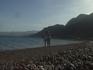 пляж не освоенной территории