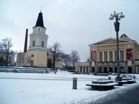 Центральная площадь в Тампере.