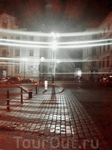 ночь, улица, фонарь.