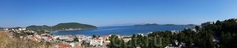 панорама Эгейского моря