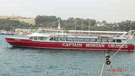 """На этом кораблике я и """"ходил""""(как говорят моряки) вокруг Мальты"""