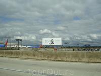 Район аэропорта LAX.