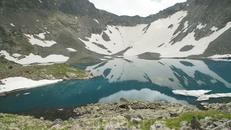 Льдина на озере Буша