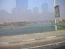 По дороге в Гизу; Нил (снимок из автобуса)