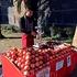 гранатовый сок на улице