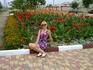 Феодосия. Много цветов.