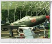 Истребитель Р-63 «Kingcobra» (США). Самолёт бортовой номер 08, заводской номер №44011, входивший в состав 940 авиационного полка 190-й дивизии генерал-майора ...