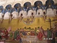"В Храме Гроба Господня. "" Уложение Христа во гроб"""