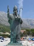 Башка Вода - Св.Николай приветствует и провожает корабли в порту