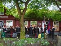 В этот день местные жители дружно и весело отмечали День Святого Олава - национальный день Фарерских островов