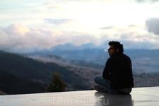 """только в горах ближе к облаам можно обрести свое """"Я"""""""