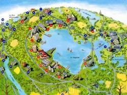 Карта Орши с достопримечательностями