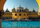 Термальные купальни Сечени в Будапеште